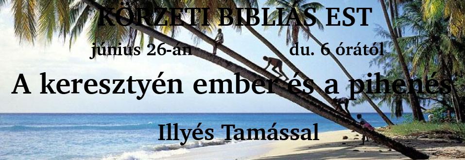 Körzeti Bibliás Est