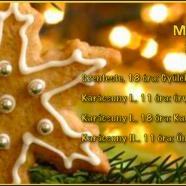 2014.12.24 – Karácsonyi alkalom