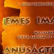2016. 02.07 – Imahét záró aklalom – 8. nap – Veres-Kovács Attila – Lk 24, 16