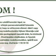 2015.02.07. – Imaheti alkalom – Acacia Mkl – Jn 4,7-15