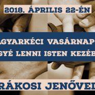 2018. 04. 22. – Istentisztelet – Eggyé lenni Isten kezében – Rákosi Jenő – Ez 37,19