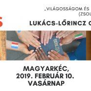 2019. 02. 10. – Imahétzáró alkalom – Lőrinc-Lukács Csilla – Kutyfalva