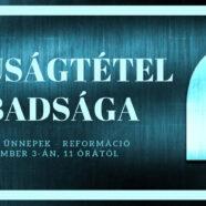 2019.11.03 – Úrvacsora – Magyar Boglárka